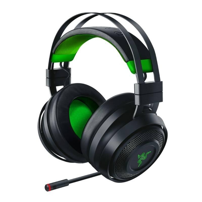 Headset Razer Nari Ultimate pro Xbox One (RZ04-02910100-R3M1) čierny/zelený