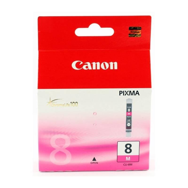 Cartridge Canon CLI-8M, 420 stran - originální (0622B001) fialová