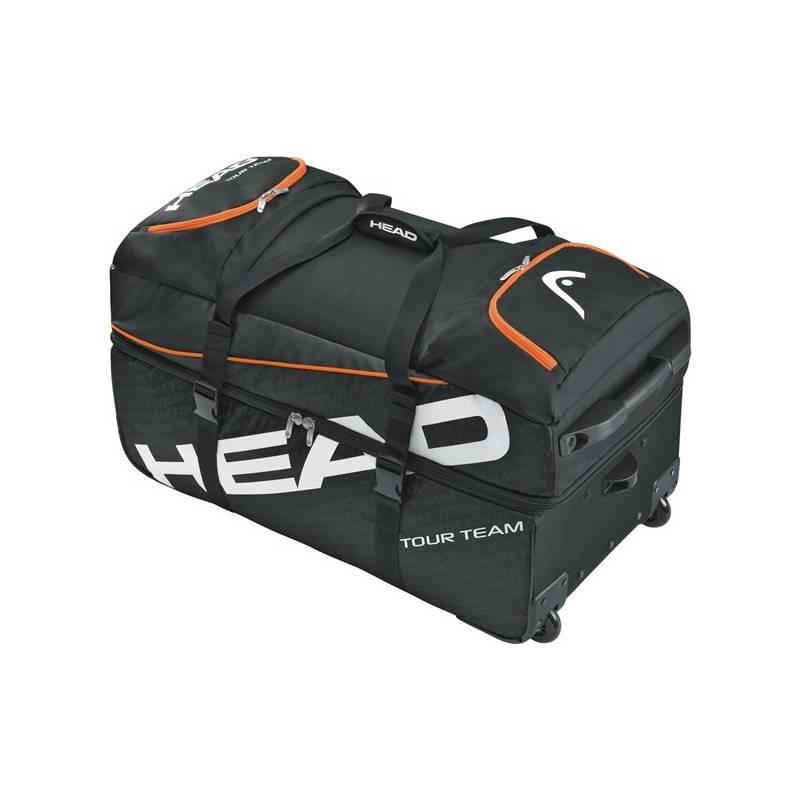 c60388ef3b Taška cestovná Head Tour Team Travel Bag čierna oranžová