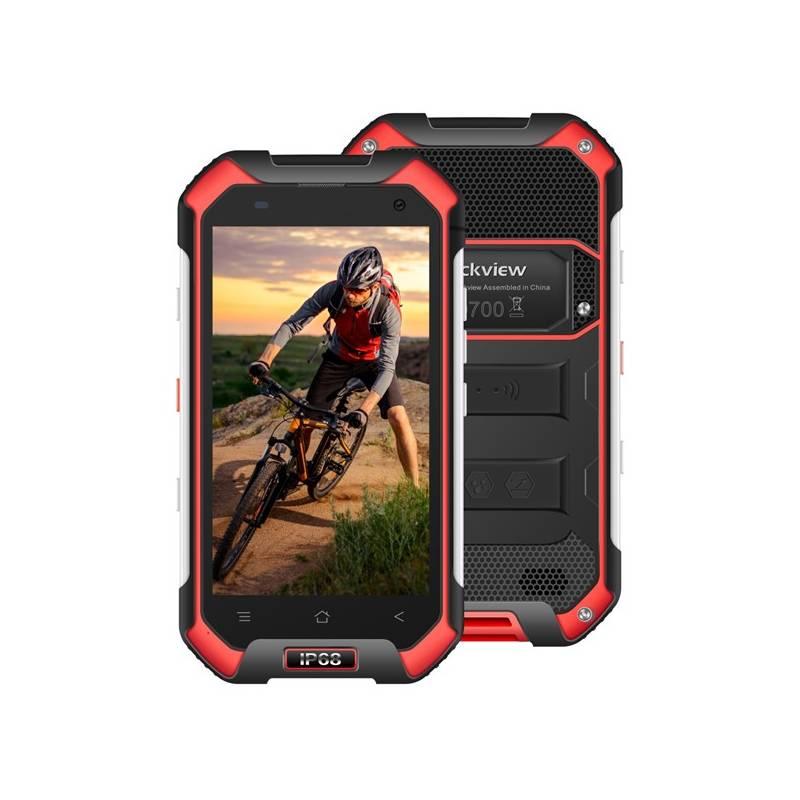 Mobilný telefón iGET BLACKVIEW GBV6000s (84000414) čierny/červený Software F-Secure SAFE, 3 zařízení / 6 měsíců (zdarma) + Doprava zadarmo