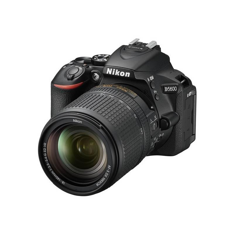 Digitálny fotoaparát Nikon D5600 + 18-140 AF-S VR (VBA500K002) čierny + Doprava zadarmo