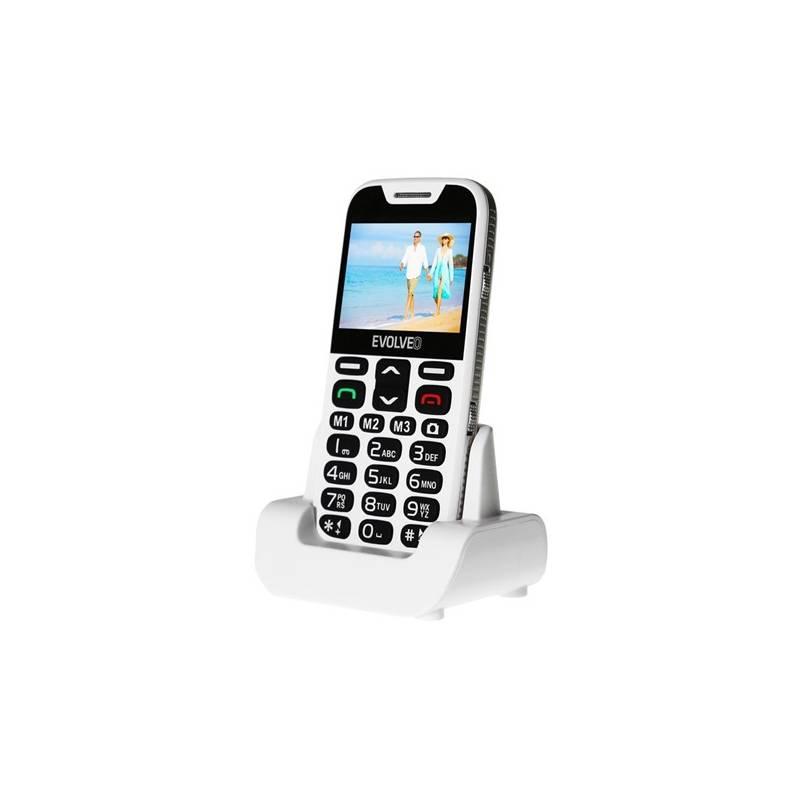 Mobilný telefón Evolveo EVOLVEO EasyPhone XD pro seniory (EP-600-XDW) biely Software F-Secure SAFE, 3 zařízení / 6 měsíců (zdarma)