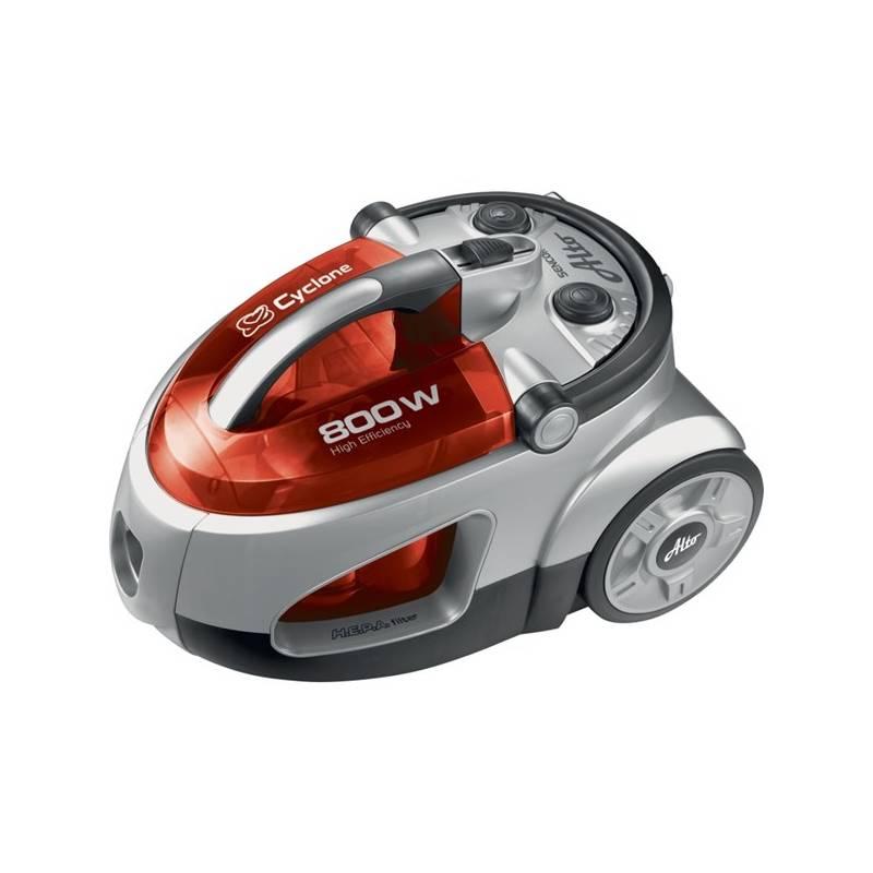 Vysávač podlahový Sencor SVC 730RD-EUE2 biely/červený