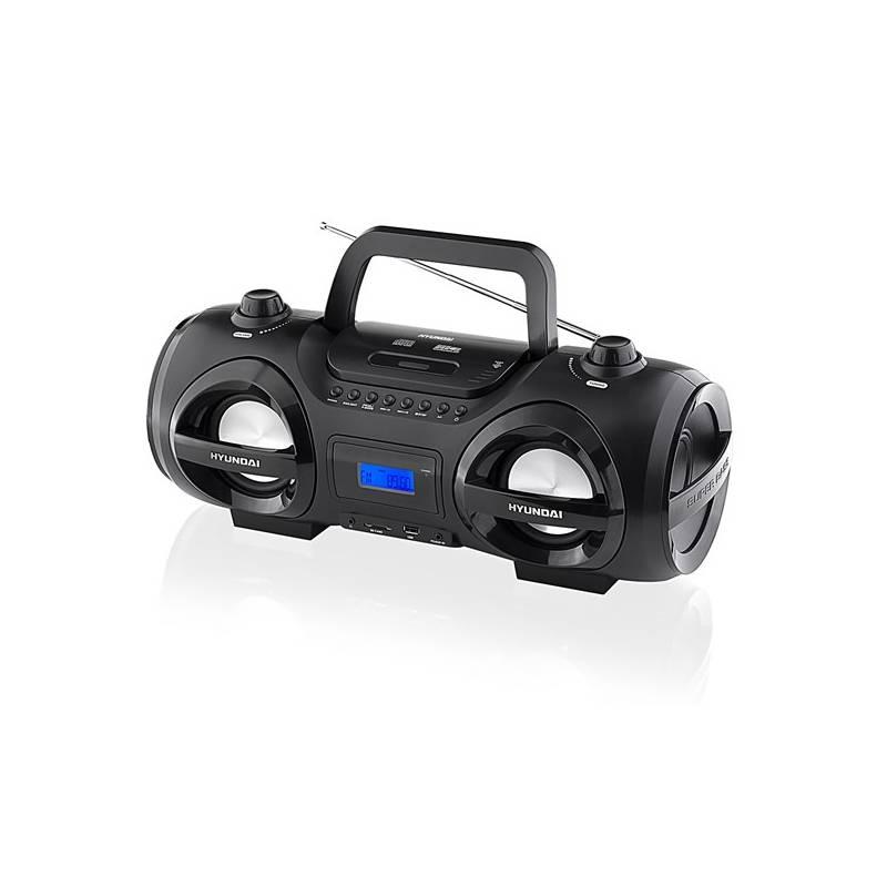 Rádioprijímač Hyundai TRC 191 DRSU3 čierny