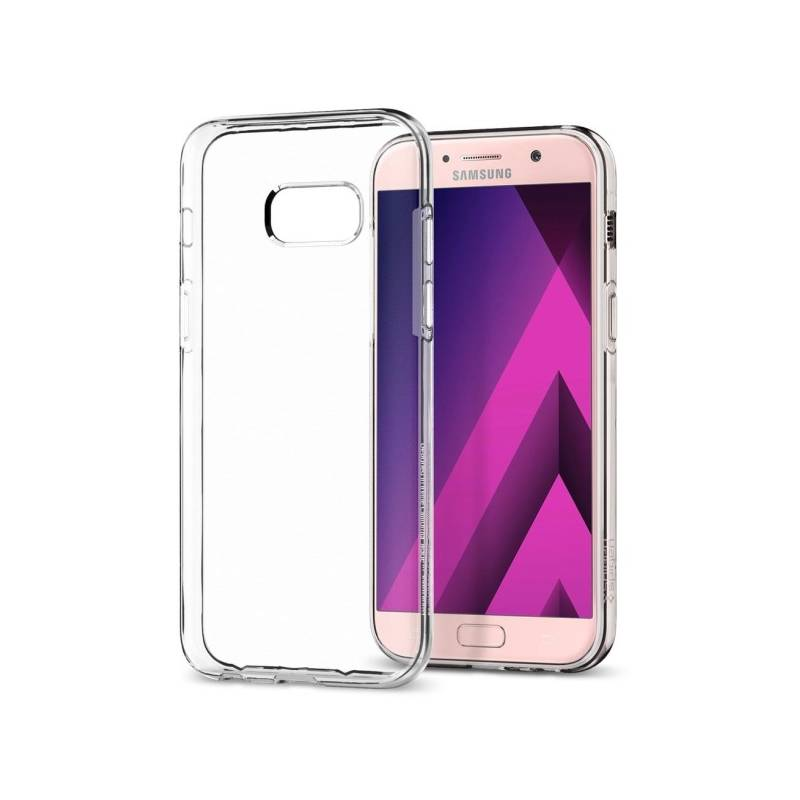 Kryt na mobil Spigen Liquid Crystal Samsung Galaxy A3 (2017) (572CS21141) priehľadný