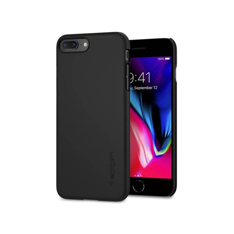 Kryt na mobil Spigen Thin Fit Apple iPhone 7 Plus / 8 Plus (HOUAPIP8PSPBK) čierny