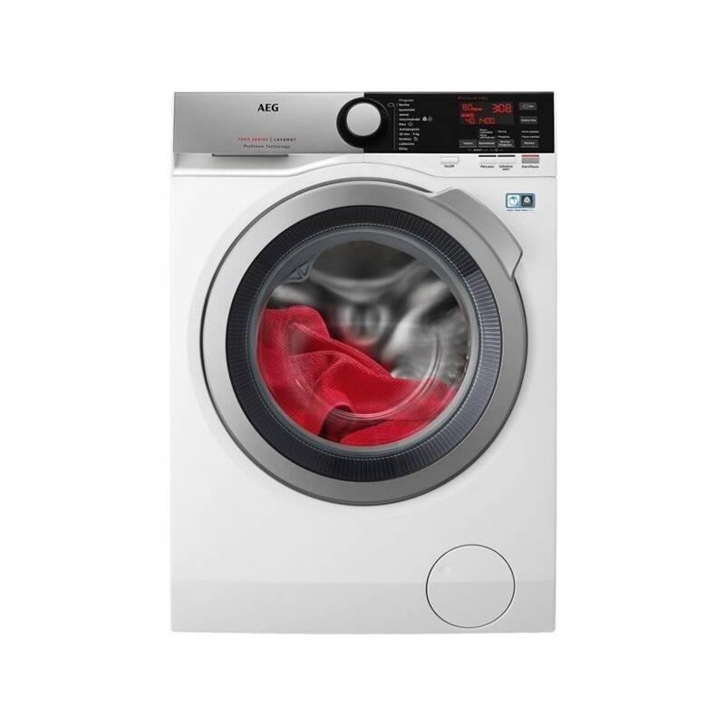 Automatická práčka AEG ProSteam® L7FEE48SC biela + Cashback 80 € + Doprava zadarmo