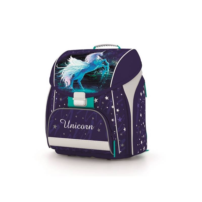 Aktovka školská P + P Karton PREMIUM Unicorn