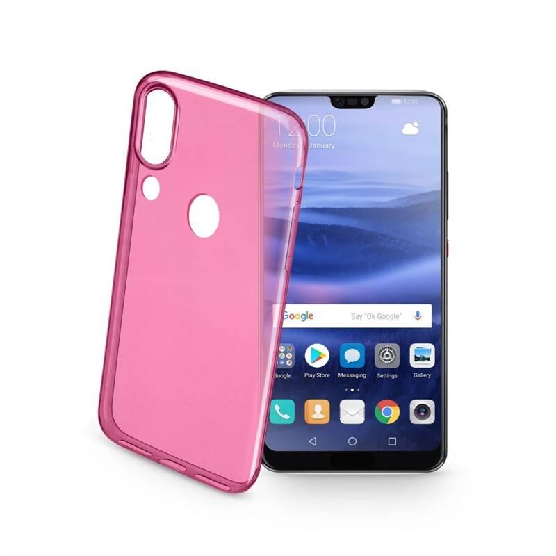 Kryt na mobil CellularLine pro Huawei P20 Lite (454705) ružový 8316f96da11