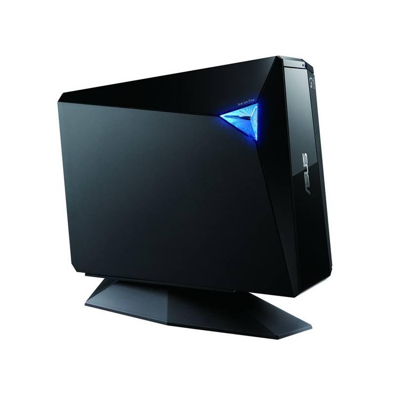 Externá Blu-ray napaľovačka Asus BW-12D1S-U (90-D900000-UA071KZ) čierna