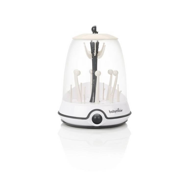 Sterilizátor Babymoov Turbo CREAM elektrický sivé/biele