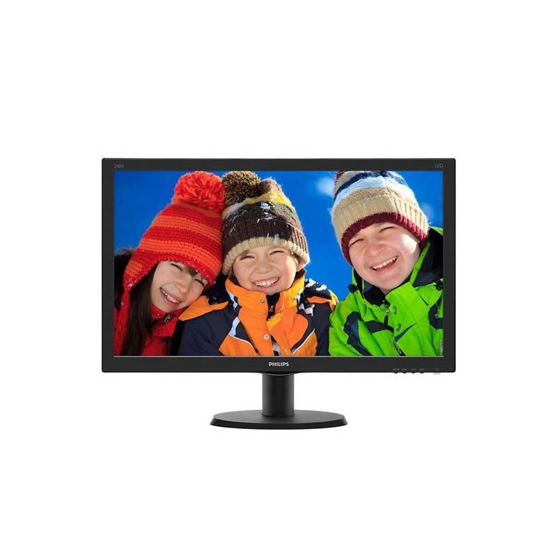Monitor Philips 240V5QDSB (240V5QDSB/00) čierny