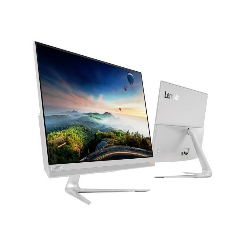 PC all in-one Lenovo IdeaCentre AIO 520S-23IKU Touch (F0CU002ECK) strieborný + Doprava zadarmo