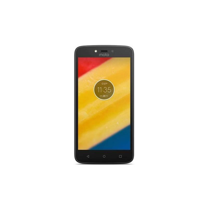 Mobilný telefón Motorola C Plus, dual SIM, 1GB RAM, Starry Black (442090) + Doprava zadarmo