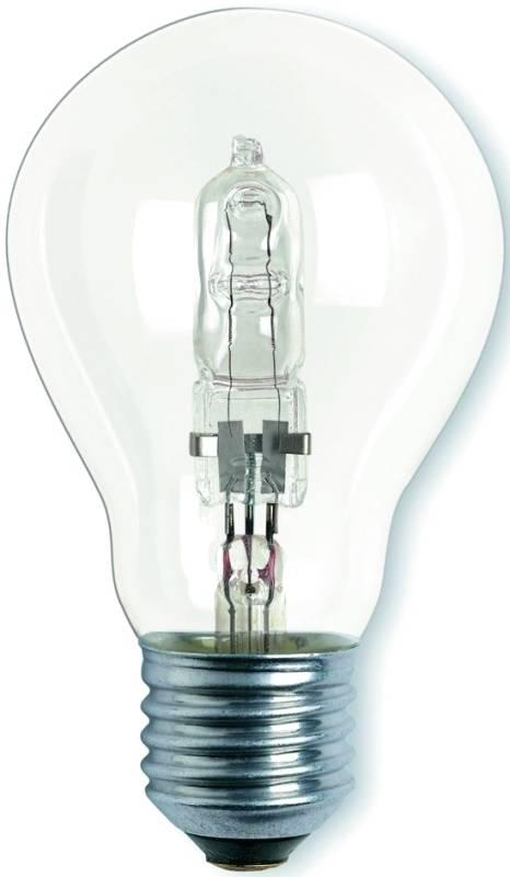 Halogénová žiarovka Osram klasik, 30W, E27, teplá bílá, stmívatelná (291961)