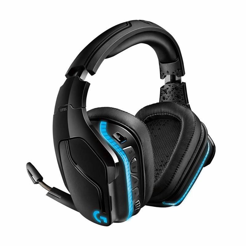 Headset Logitech Gaming G935 7.1 Surround Lightsync (981-000744) čierny