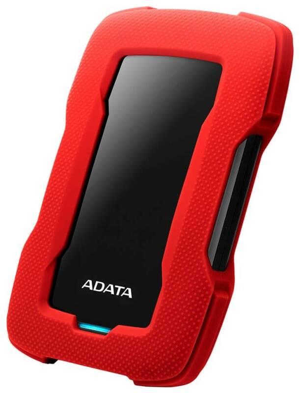 Externý pevný disk ADATA HD330 1TB (AHD330-1TU31-CRD) červený