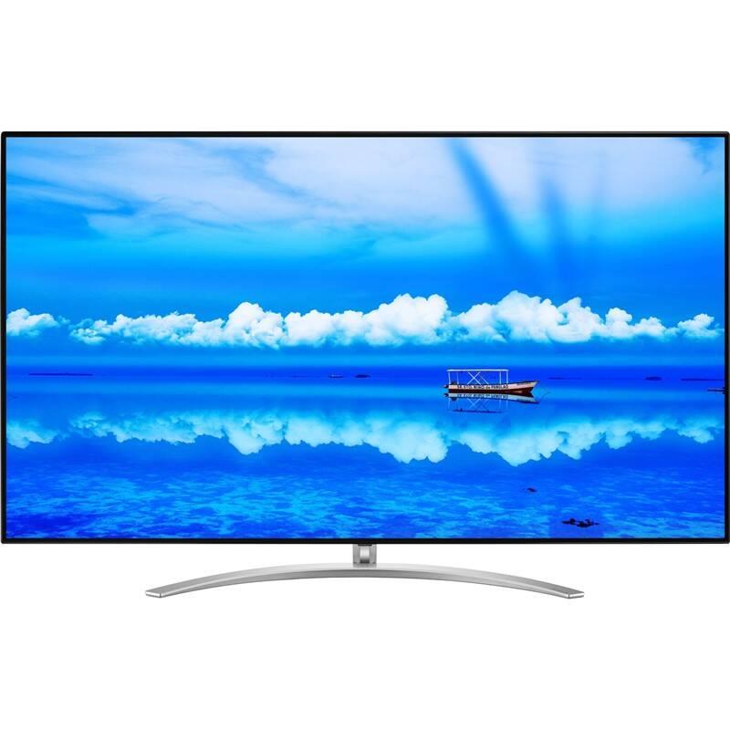 Televize LG 55SM9800 stříbrná