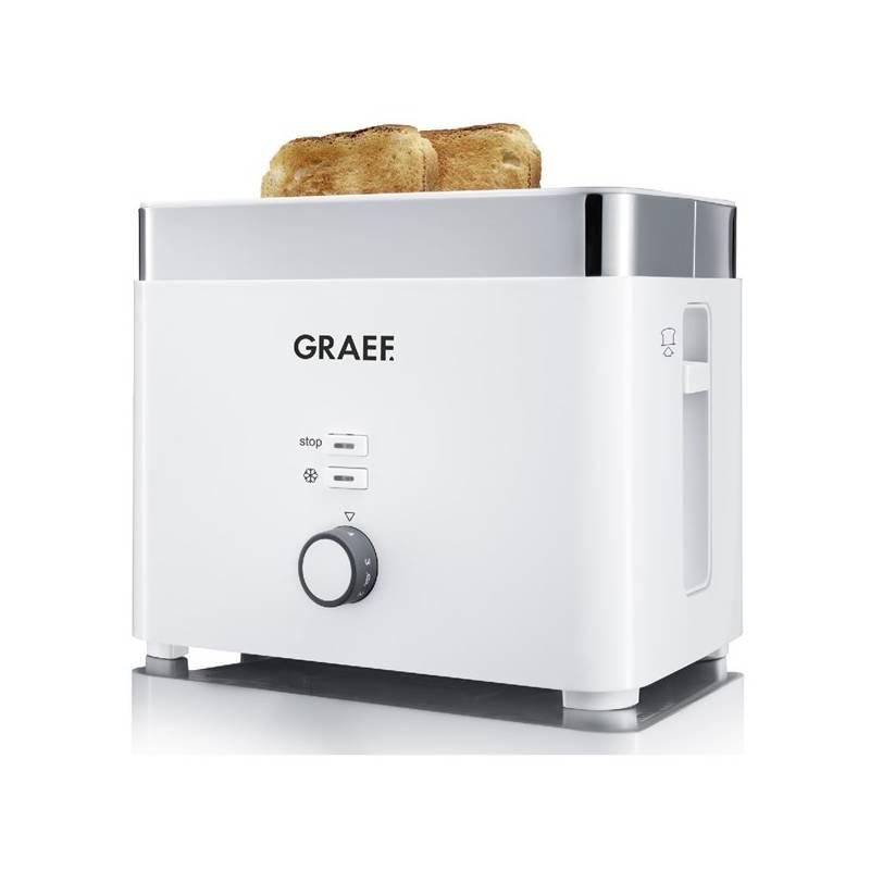 Hriankovač GRAEF TO 61 biely/nerez