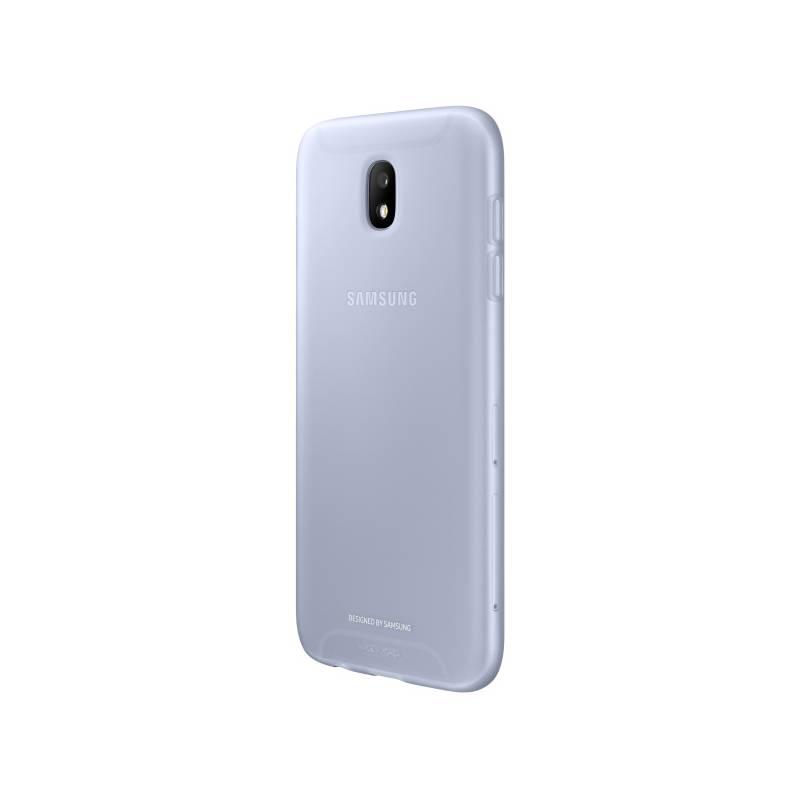 Kryt na mobil Samsung Jelly Cover pro J3 (2017) (EF-AJ330TLEGWW) modrý
