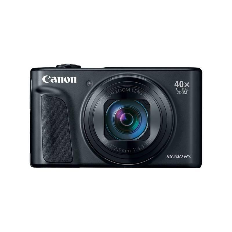 Digitální fotoaparát Canon PowerShot SX740 HS (2955C002) černý