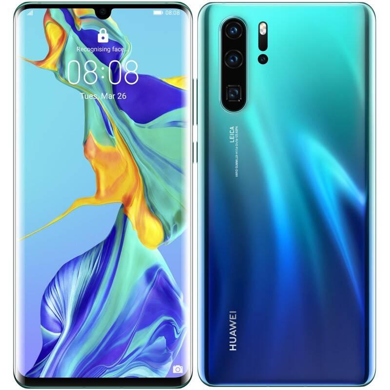 Mobilní telefon Huawei P30 Pro 128 GB - Aurora (SP-P30P128DSLOM)