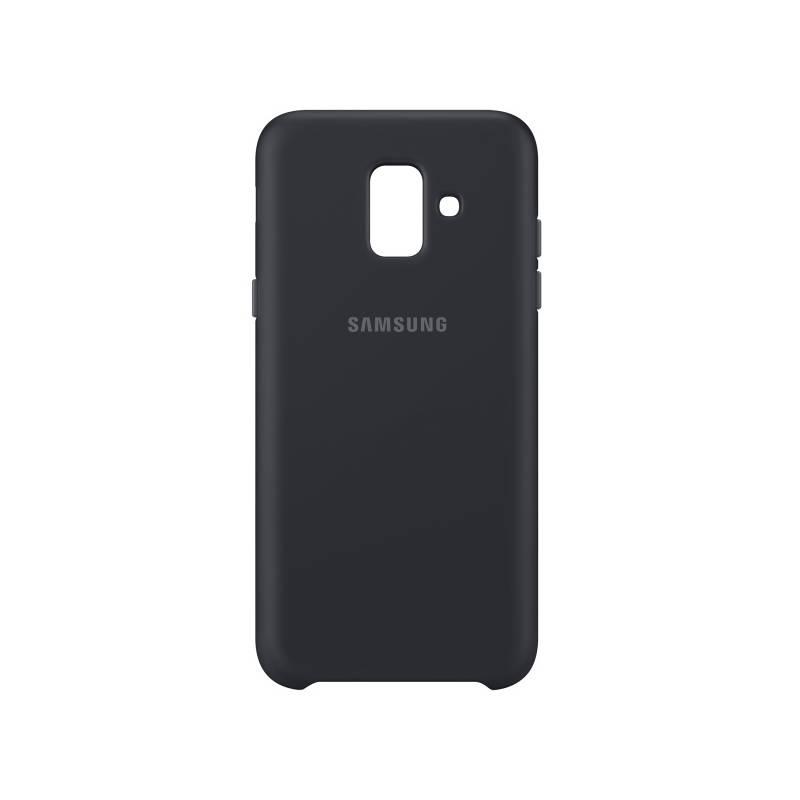 Kryt na mobil Samsung Silicon Cover pro Galaxy A6 (EF-PA600CBEGWW) čierny