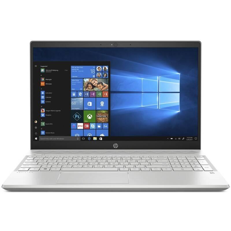Notebook HP Pavilion 15-cw1007nc (6WH78EA#BCM) stříbrný