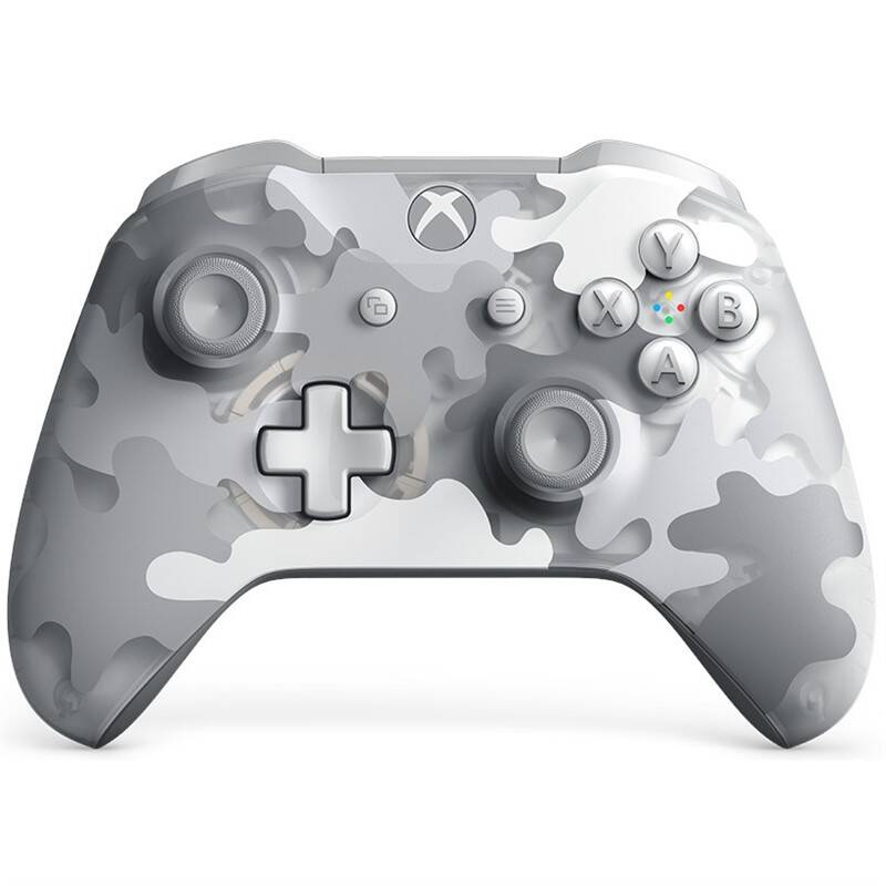 Gamepad Microsoft Xbox One Wireless - Arctic Camo Special Edition (MSOP87547)