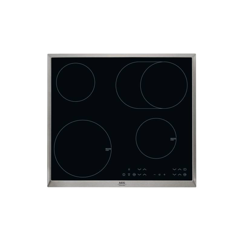 Kombinovaná varná doska AEG Mastery HK634150XB čierna/sklo + Doprava zadarmo