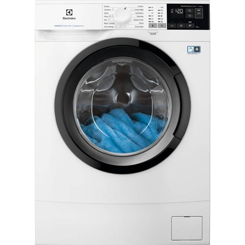 Práčka Electrolux PerfectCare 600 EW6S406BI biela + Doprava zadarmo