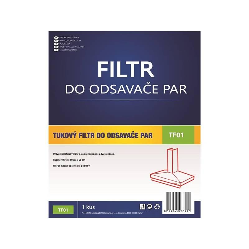 Tukový filter Koma TF01 biely