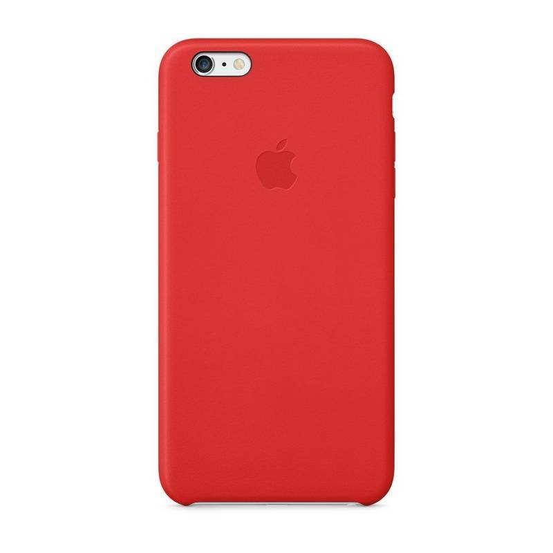 Kryt na mobil Apple Leather Case pro iPhone 6 Plus   6s Plus - bright red c22d40ee7bc