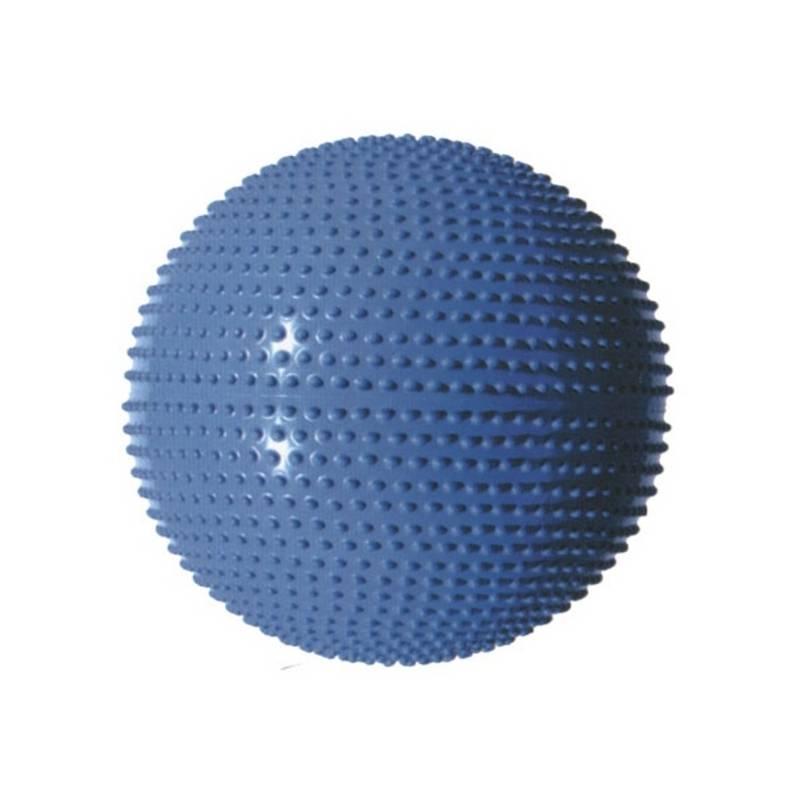 Gymnastická lopta Master Masážní průměr 55 cm strieborný + Doprava zadarmo