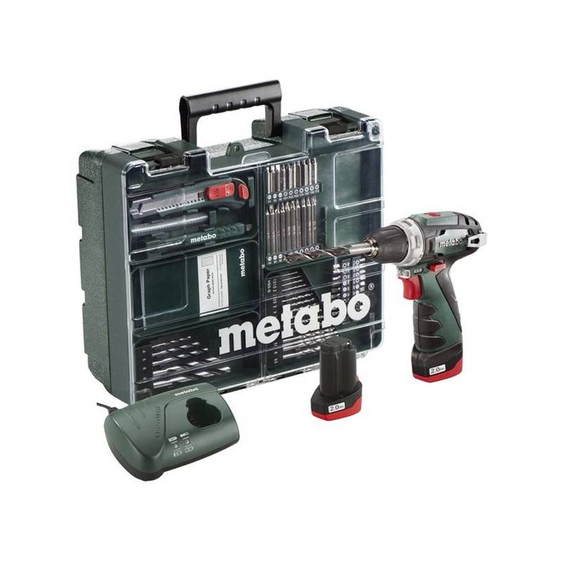 Aku vŕtačka Metabo Power Maxx BS Basic MD 600080880 zelená