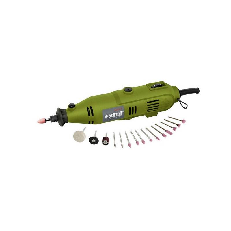 Mini bruska EXTOL Craft 404111, 130 W