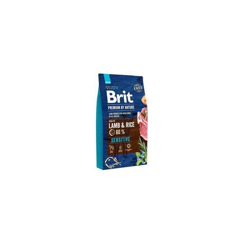 Granule Brit Premium Dog by Nature Sensitive Lamb 8 kg