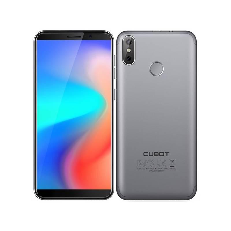 Mobilný telefón CUBOT J3 Pro Dual SIM (PH3913) sivý