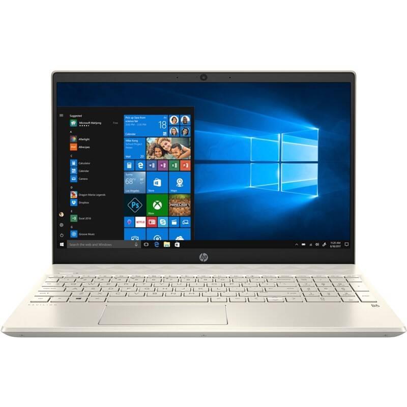 Notebook HP Pavilion 15-cs2004nc (6WH55EA#BCM) zlatý