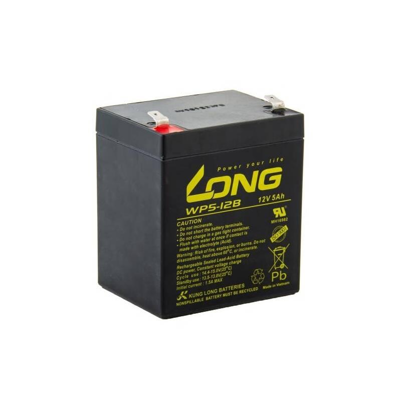 Olovený akumulátor Avacom Long 12V 5Ah F2 (WP5-12 F2) (PBLO-12V005-F2A)