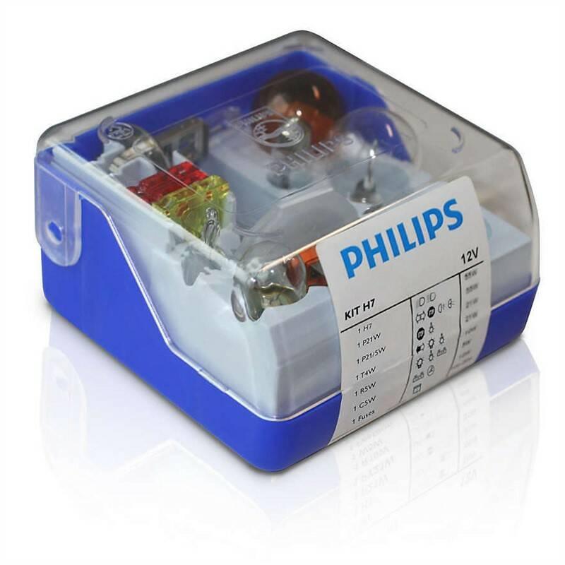 Sada Philips náhradních autožárovek H7 (55007SKKM)