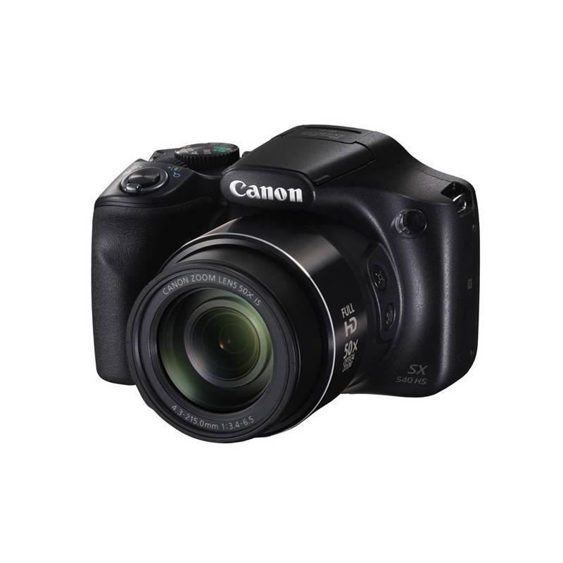 Digitálny fotoaparát Canon PowerShot SX540 HS čierny