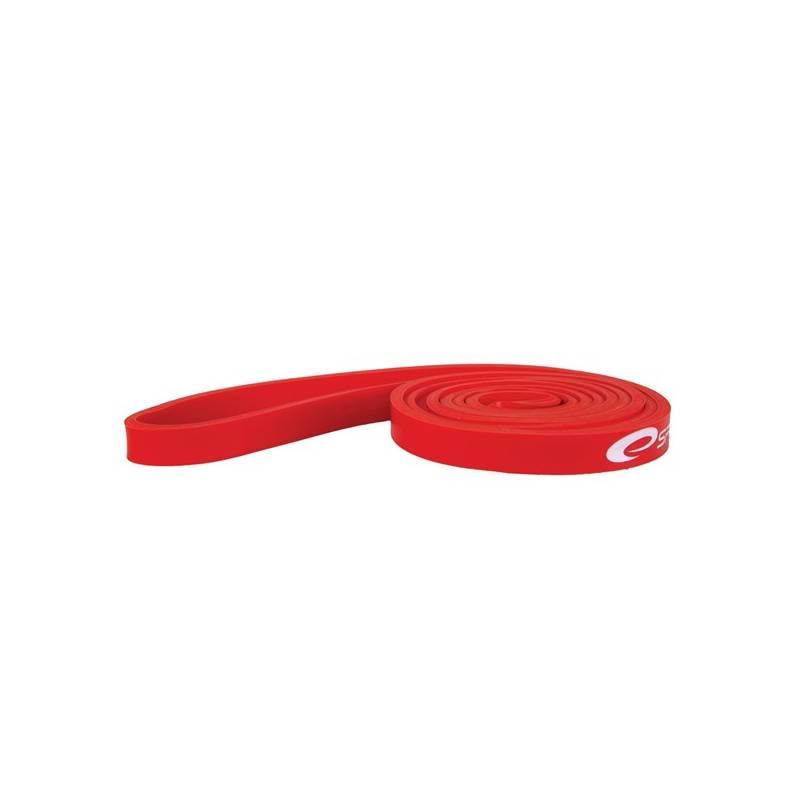 Posilňovacia guma Spokey Power, odpor 6-14 kg červená