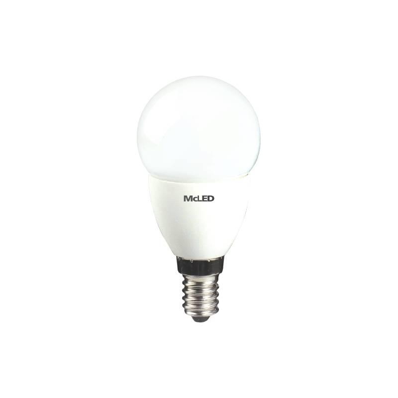 LED žiarovka McLED klasik, 5,5W, E14, neutrální bílá