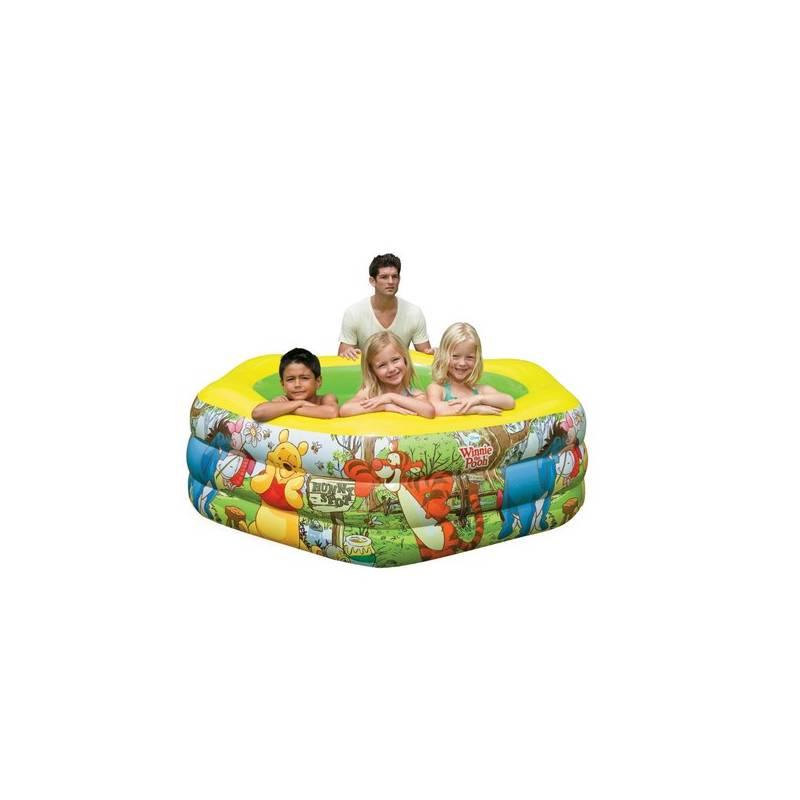 Bazén Intex Medvídek Pú DeLuxe 191x178x61 cm (57494) + Doprava zadarmo