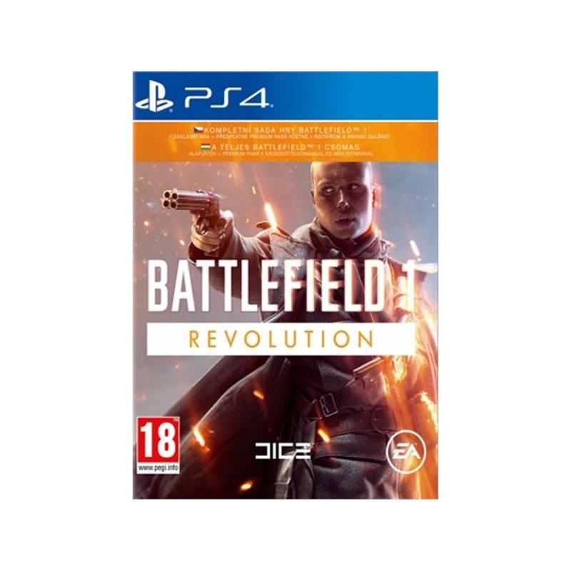 Hra EA PlayStation 4 Battlefield 1 Revolution (5030930122430)