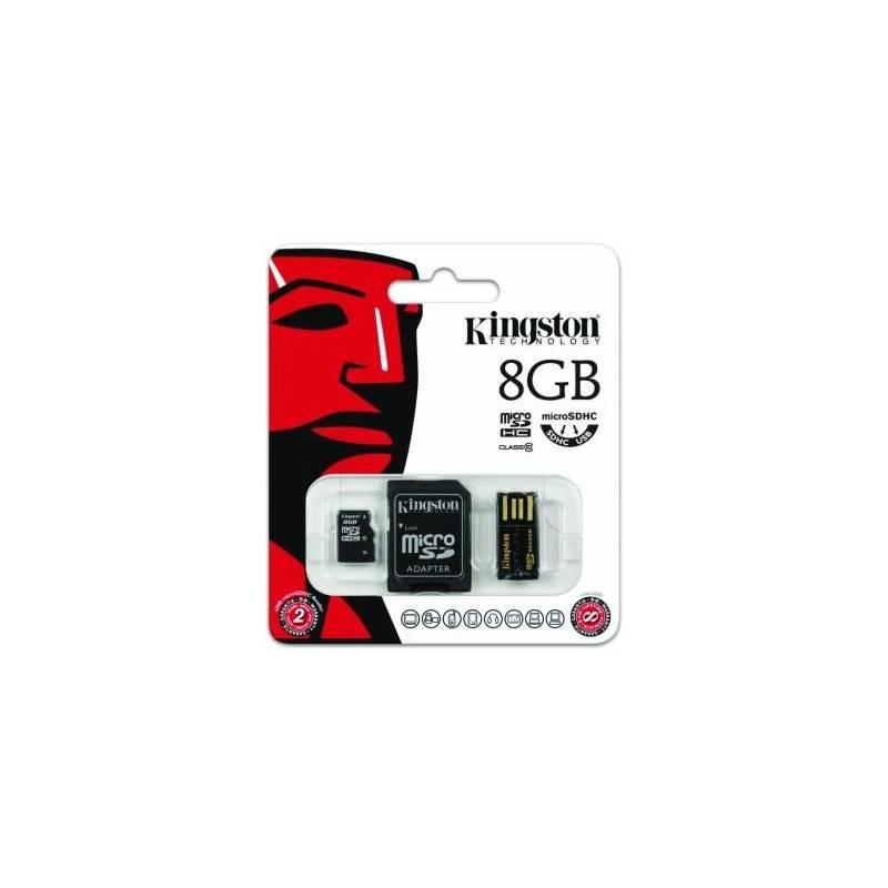 Pamäťová karta Kingston Mobility Kit 8GB Class4 (MBLY4G2/8GB)