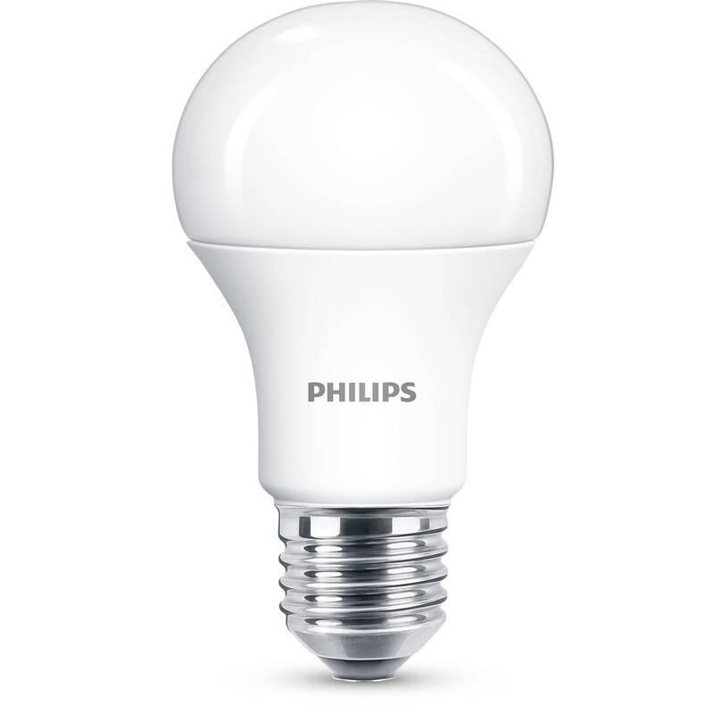 LED žiarovka Philips klasik, 11W, E27, teplá bílá (8718699769703)