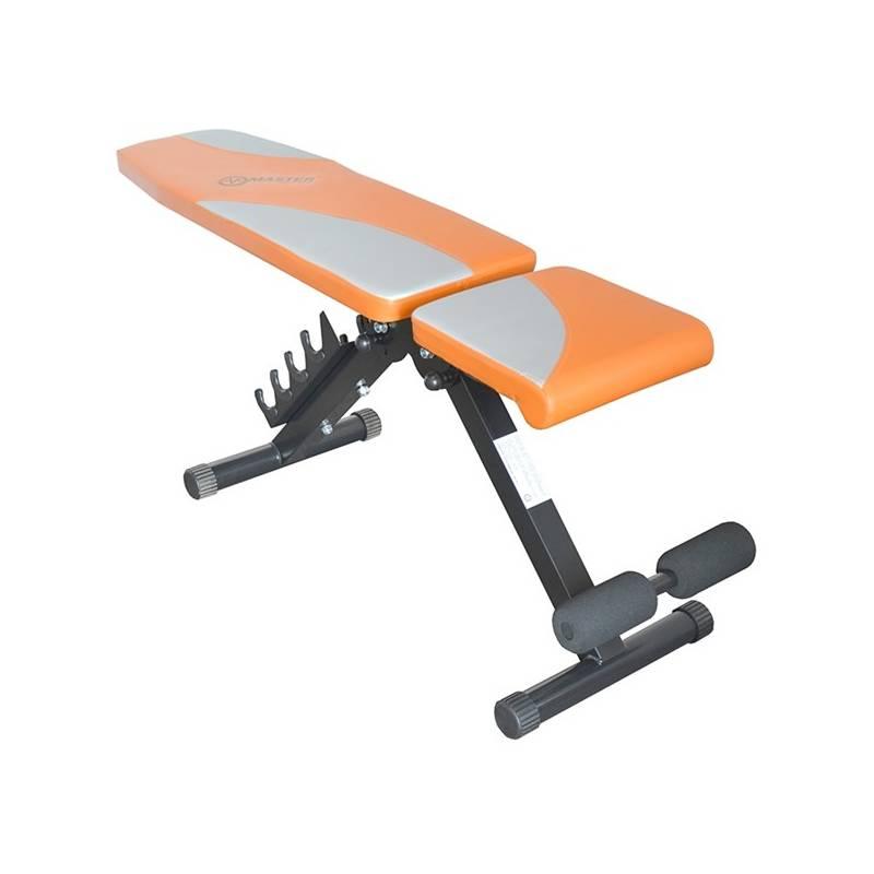 Posilňovacia lavica Master Sit Up + Ručník Spokey SIROCCO M rychleschnoucí 40 x 80 cm, s odnímatelnou sponou - zelený v hodnote 5.10 €
