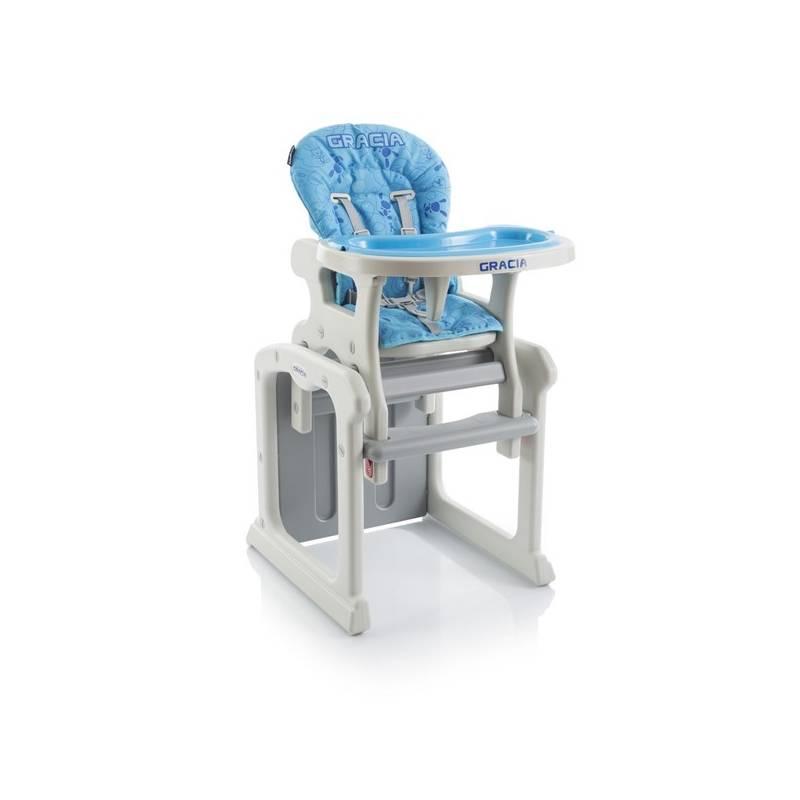 Jedálenská stolička Babypoint Gracia modrá + Doprava zadarmo